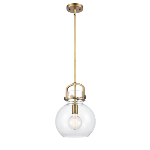 Newton Brushed Brass 13-Inch One-Light Pendant