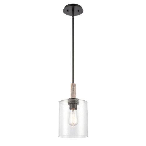 Paladin Matte Black One-Light Mini Pendant