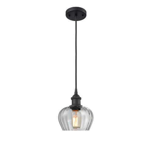 Ballston Matte Black Seven-Inch One-Light Mini Pendant