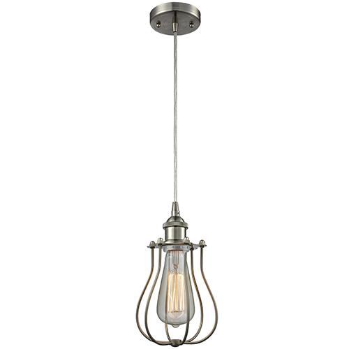 innovations lighting barrington brushed satin nickel one light mini pendant 516 1p sn 513