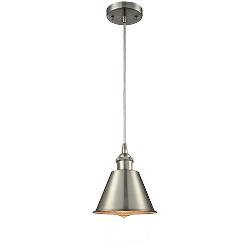 Innovations Lighting Smithfield Brushed Satin Nickel One-Light Mini Pendant