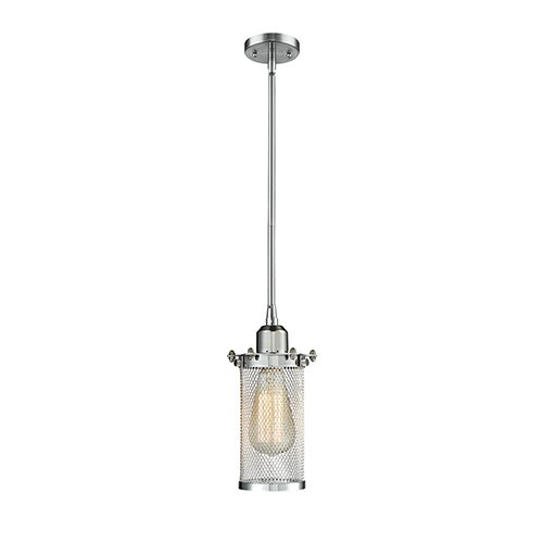 Bleecker Polished Chrome LED Mini Pendant