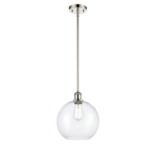 Ballston Polished Nickel One-Light Pendant