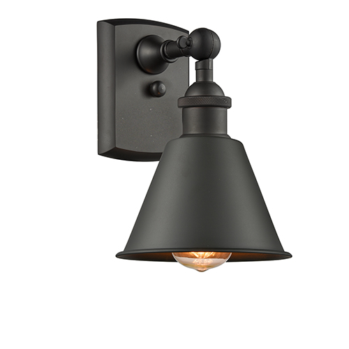 Innovations Lighting Smithfield Oiled Rubbed Bronze LED Wall Sconce