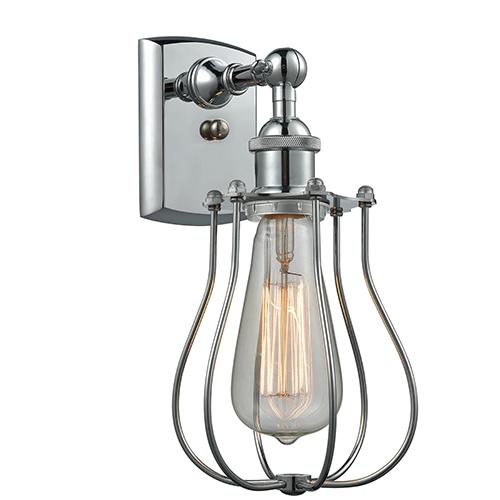 Innovations Lighting Barrington Polished Chrome One-Light Wall Sconce