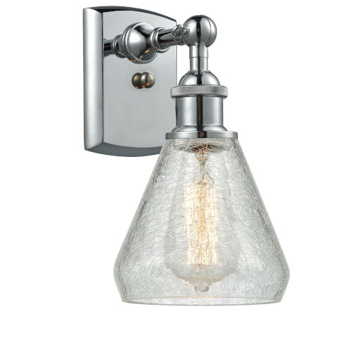Conesus Polished Chrome LED Wall Sconce