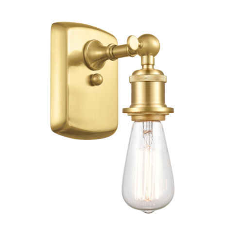 Ballston Satin Gold One-Light Wall Sconce