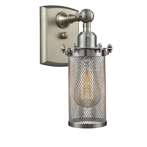 Innovations Lighting Bleecker Brushed Satin Nickel LED Wall Sconce