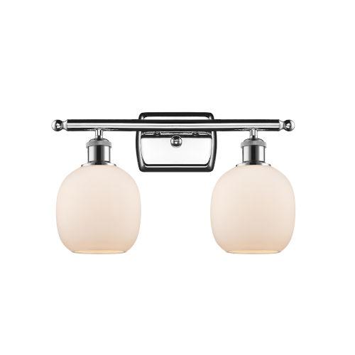 Belfast Polished Chrome Two-Light LED Bath Vanity