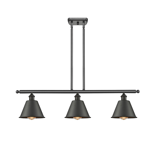 Innovations Lighting Smithfield Oiled Rubbed Bronze Three-Light LED Island Pendant