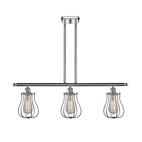 Innovations Lighting Barrington Polished Chrome Three-Light LED Island Pendant