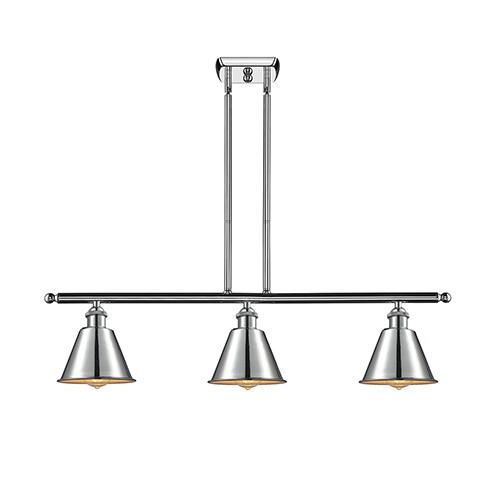 Innovations Lighting Smithfield Polished Chrome Three-Light Island Pendant
