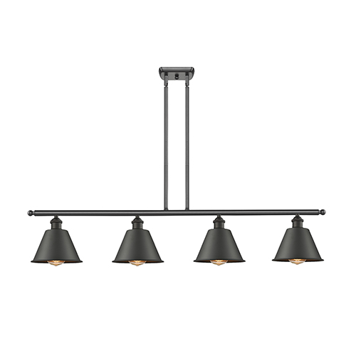 Innovations Lighting Smithfield Oiled Rubbed Bronze Four-Light Island Pendant