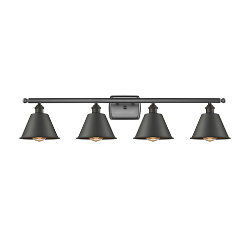 Innovations Lighting Smithfield Oiled Rubbed Bronze Four-Light LED Bath Vanity