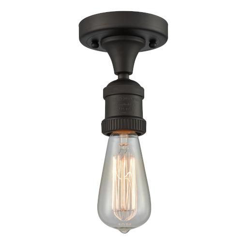Bare Bulb Semi Flush Mount