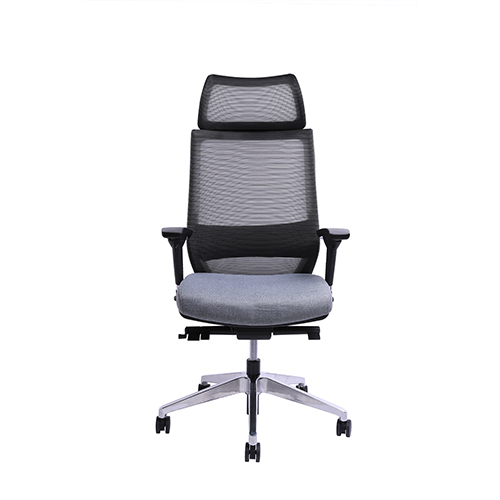 Gray CEO Ergonomic High Back Chair