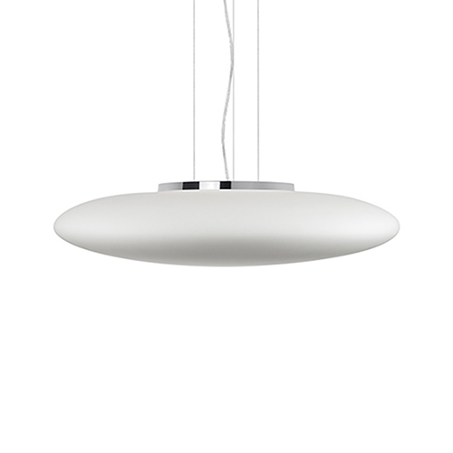 Chrome 27-Inch One Light LED Pendant