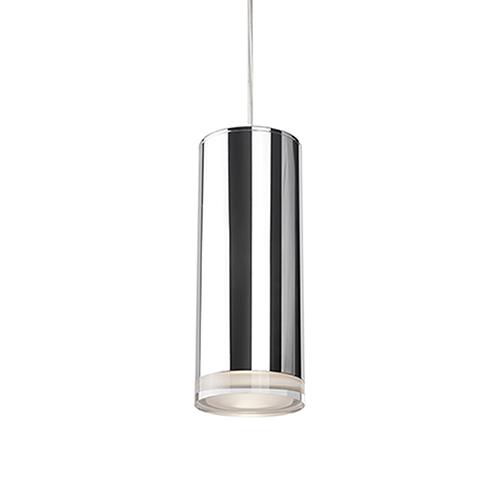 Chrome 10-Inch One Light LED Pendant