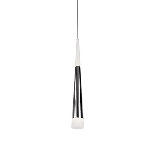 Chrome 16-Inch One Light LED Pendant
