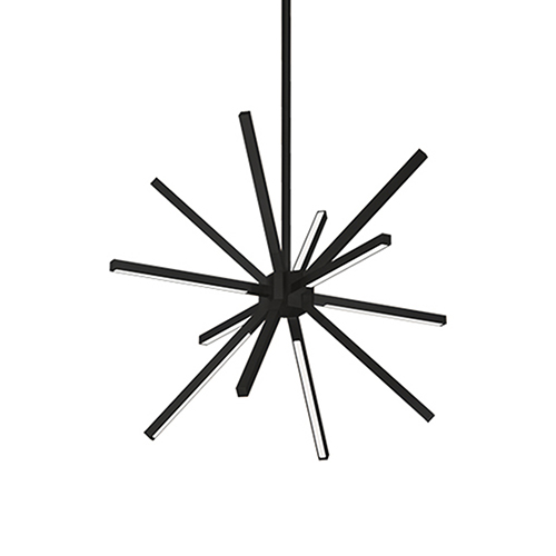 Sirius Minor Black LED Chandelier