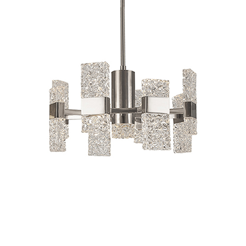 Oslo Platinum 22-Inch LED Chandelier