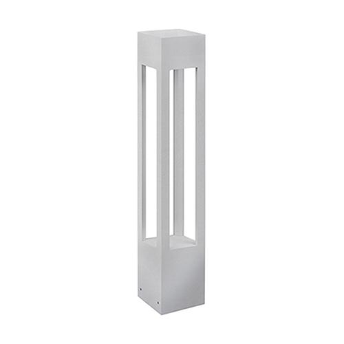 Brushed Nickel 36-Inch One-Light Tall Bollard