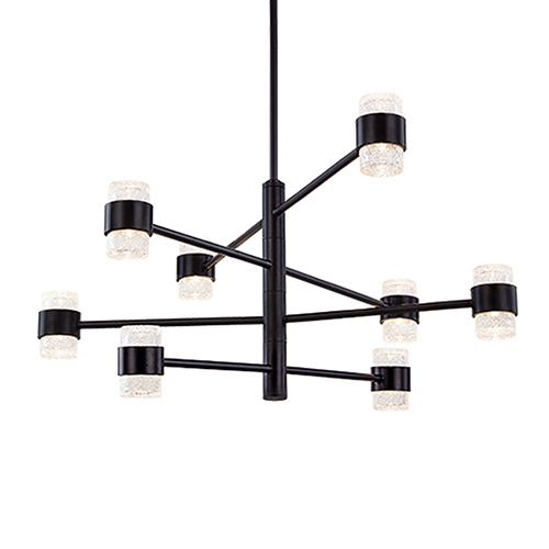 Copenhagen Black 32-Inch One-Light Outdoor Pendant