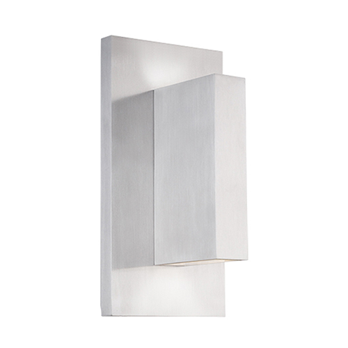 Vista Brushed Nickel One-Light Wall Sconce
