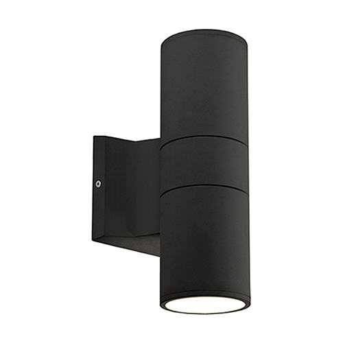 Black Nine-Inch One-Light Wall Sconce
