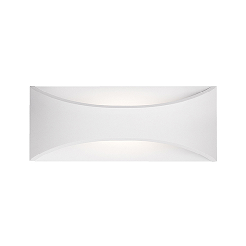 White 11-Inch One-Light Wall Sconce
