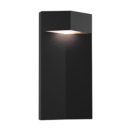 Element Black One-Light Wall Mount