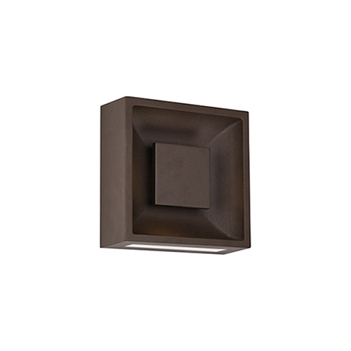 Baltic Espresso Eight-Inch One-Light Wall Sconce