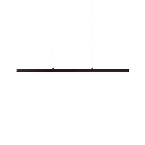 Vega Black 45-Inch One-Light LED Linear Pendant
