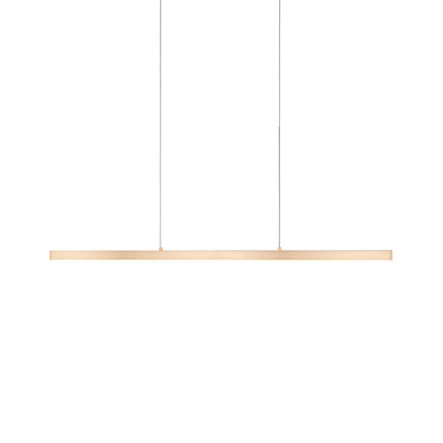 Vega Gold 45-Inch One-Light LED Linear Pendant