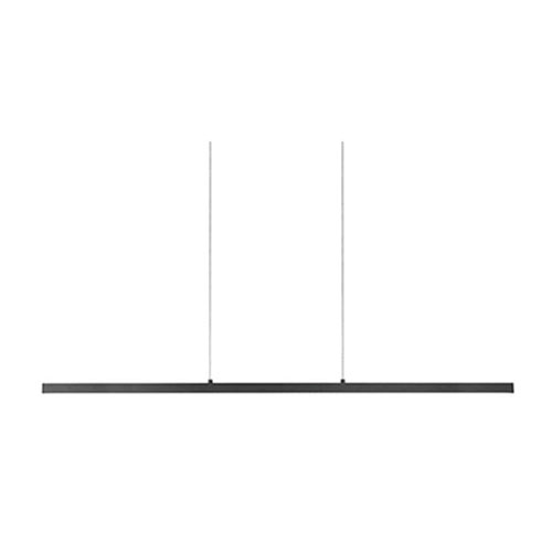 Kuzco Lighting Vega Black 56-Inch One-Light LED Pendant