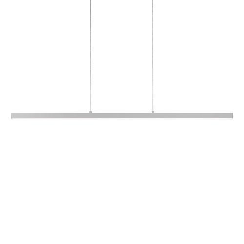 Vega Nickel 56-Inch One-Light LED Pendant