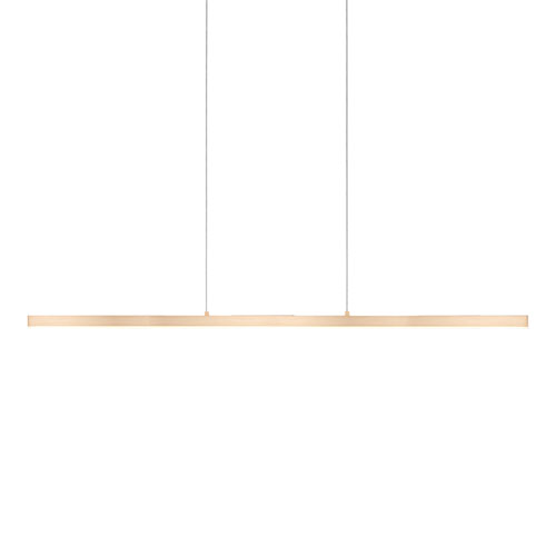 Vega Gold 56-Inch One-Light LED Pendant