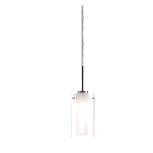 Verona Nickel Seven-Inch One-Light LED Mini-Pendant