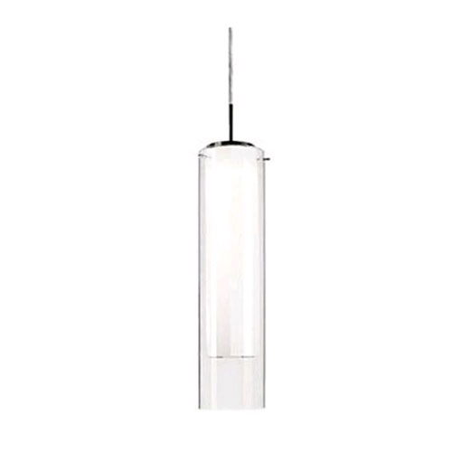 Verona Nickel 19-Inch One-Light LED Mini-Pendant