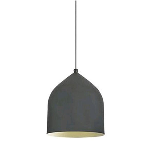 Helena Graphite with Gold Seven-Inch One-Light LED Mini-Pendant