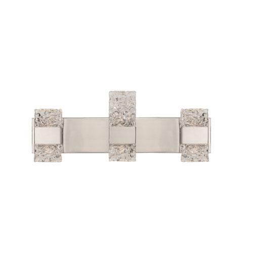 Oslo Platinum Three-Light LED Bath Vanity