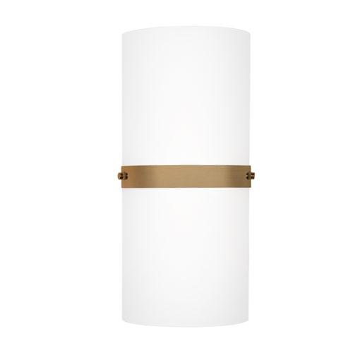 Brass 13-Inch One-Light LED Sconce