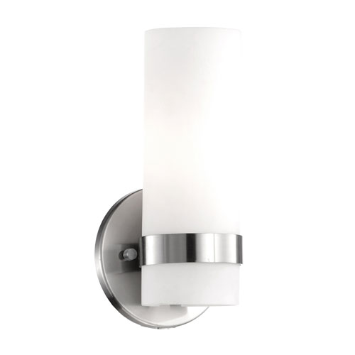 Milano Nickel Nine-Inch One-Light LED Sconce