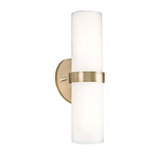 Milano Brass 15-Inch One-Light LED Sconce