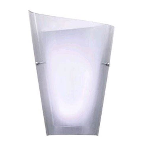 Calla Nine-Inch Smoked One-Light LED Left-Hand Sconce