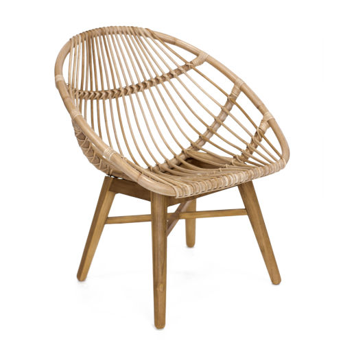Florida Natural Rattan Chair