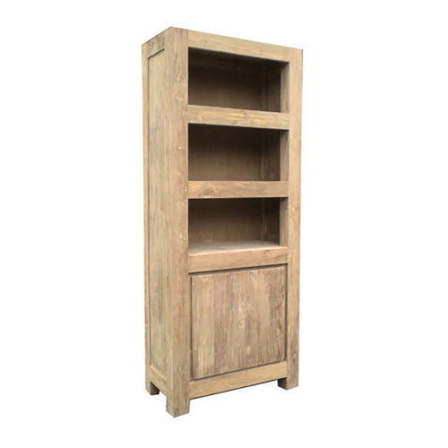 Stockholm Natural Recycled Teak Bookcase