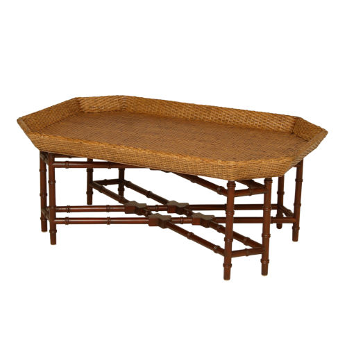 Natural 41-Inch Coffee Table