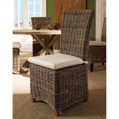 Nico Chair Kubu with White Cushion