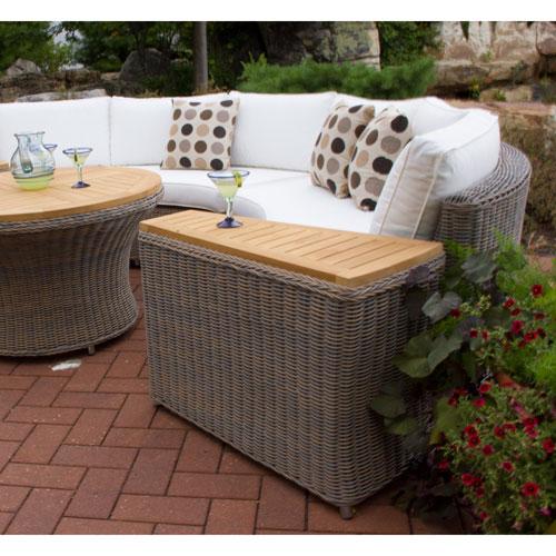 Padma's Plantation Barbados Outdoor End Table